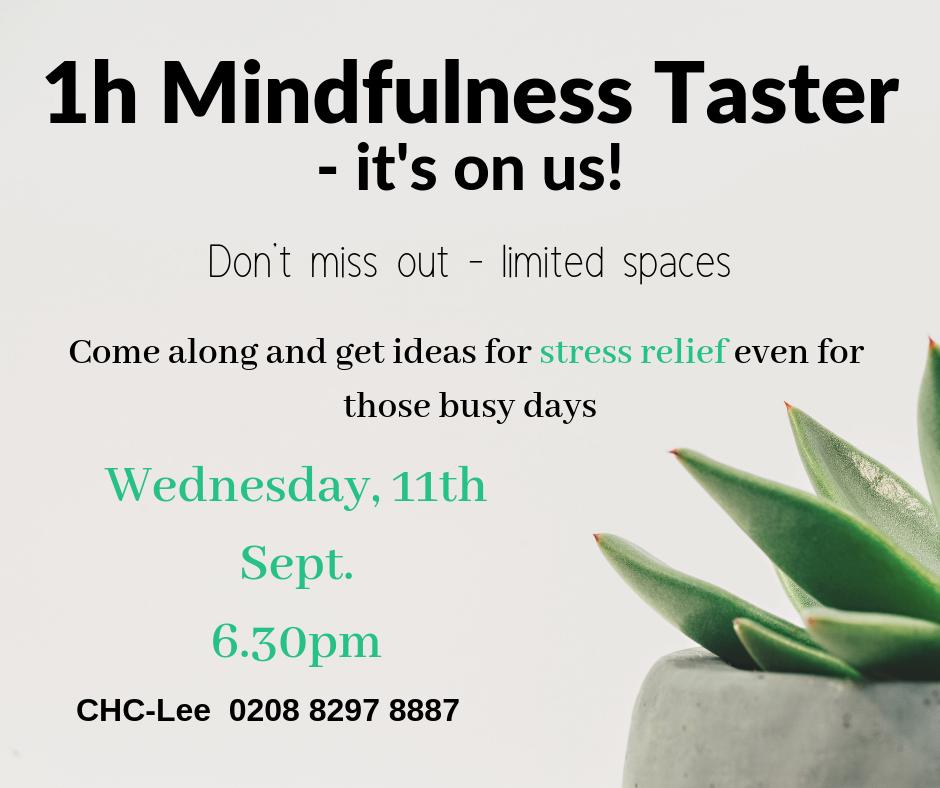 free mindfulness taster class